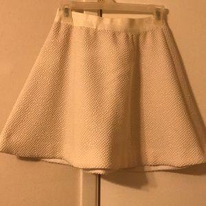 Elizabeth and James cream skirt